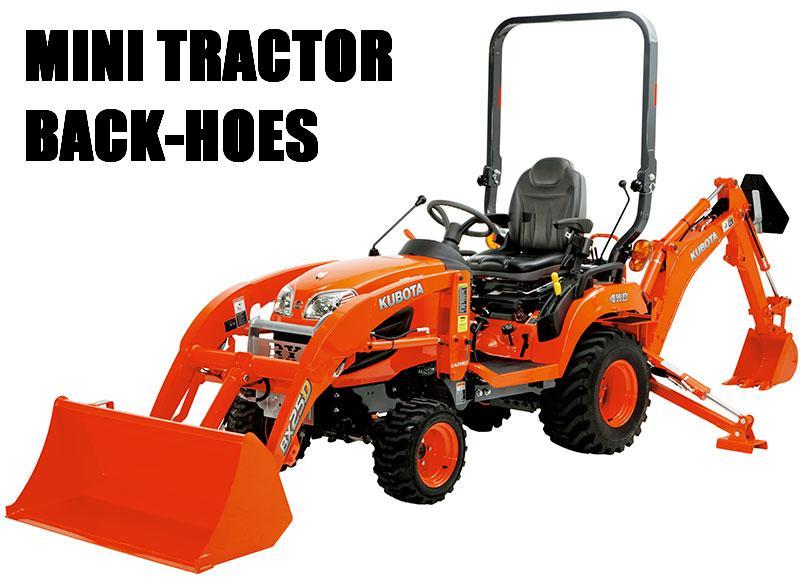 Tractor Backhoe Kubota Bx25 Diesel Dig 6 Ab Rental Centre